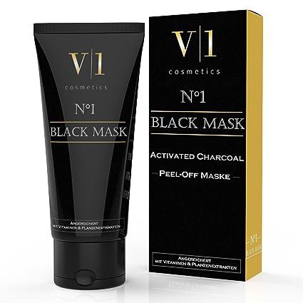 V|1 Cosmetics Mascarilla Exfoliante y Limpiadora para la limpieza profunda (T-Zone