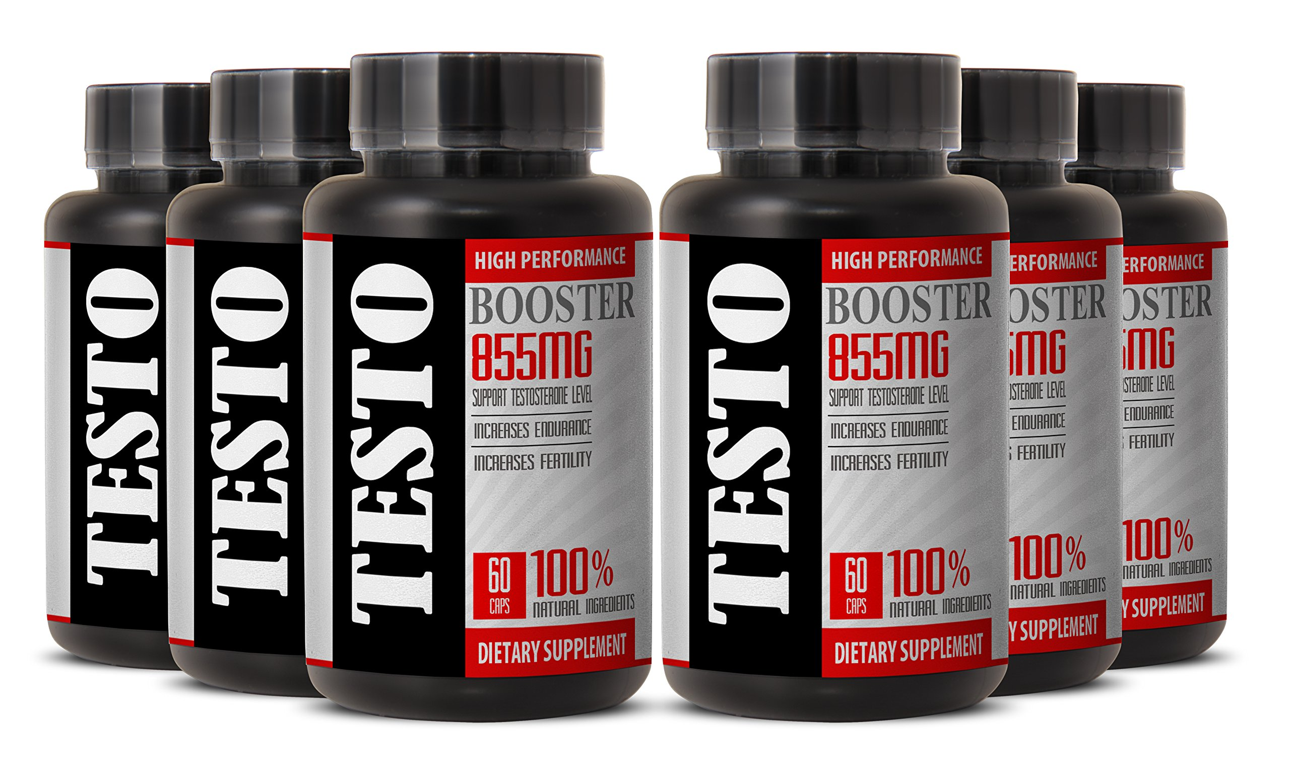 Testosterone weight loss for men - TESTO BOOSTER 855MG - libido support (6 Bottles)