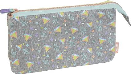 Portatodo 5 compartimentos Sugar Diamond: Amazon.es: Oficina y papelería