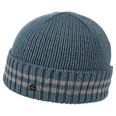 8c01f38a10b Dimo Knit Hat with Cuff Lierys fine knit hat knit beanie (One Size - light  blue)  Amazon.co.uk  Clothing