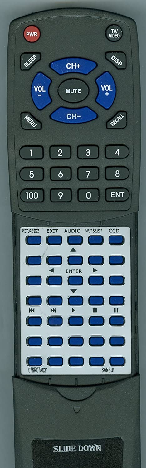 HDLCD5050 Replacement Remote for Sansui HDLCD3250B HDLCD5050A
