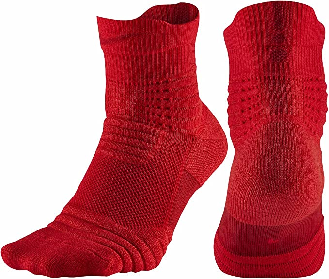 Nike Elite Versatility Mid Basketball Dri-Fit  Socks