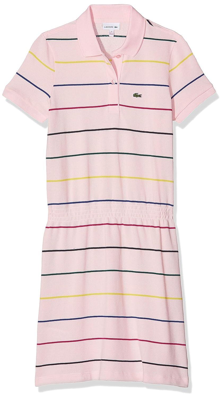 Lacoste Vestido para Niñas: Amazon.es: Ropa y accesorios