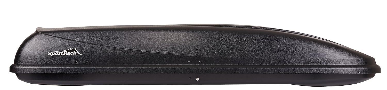 Black 16-Cubic Feet SportRack SR7016 Horizon Cargo Box