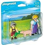 Playmobil Duo Pack - Campesina y niño, figuras (5514)