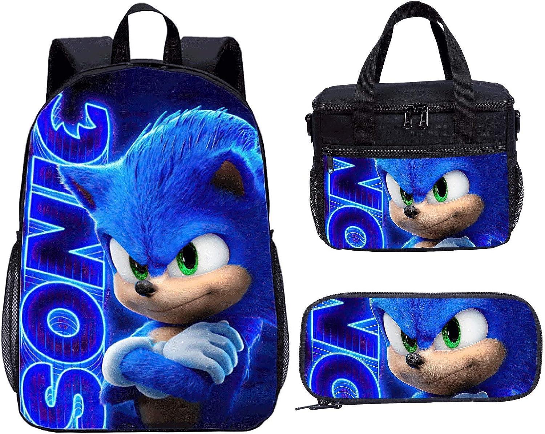 Hicus Blue Backpack,Blue Bag School Backpack for Men Boys