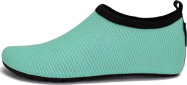 SAGUARO Kids Water Shoes Socks Barefoot Skin Swim Shoes