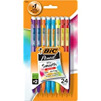 Deals on BIC Pencil Xtra Smooth Medium Point (0.7mm) 24Ct MPCEP24