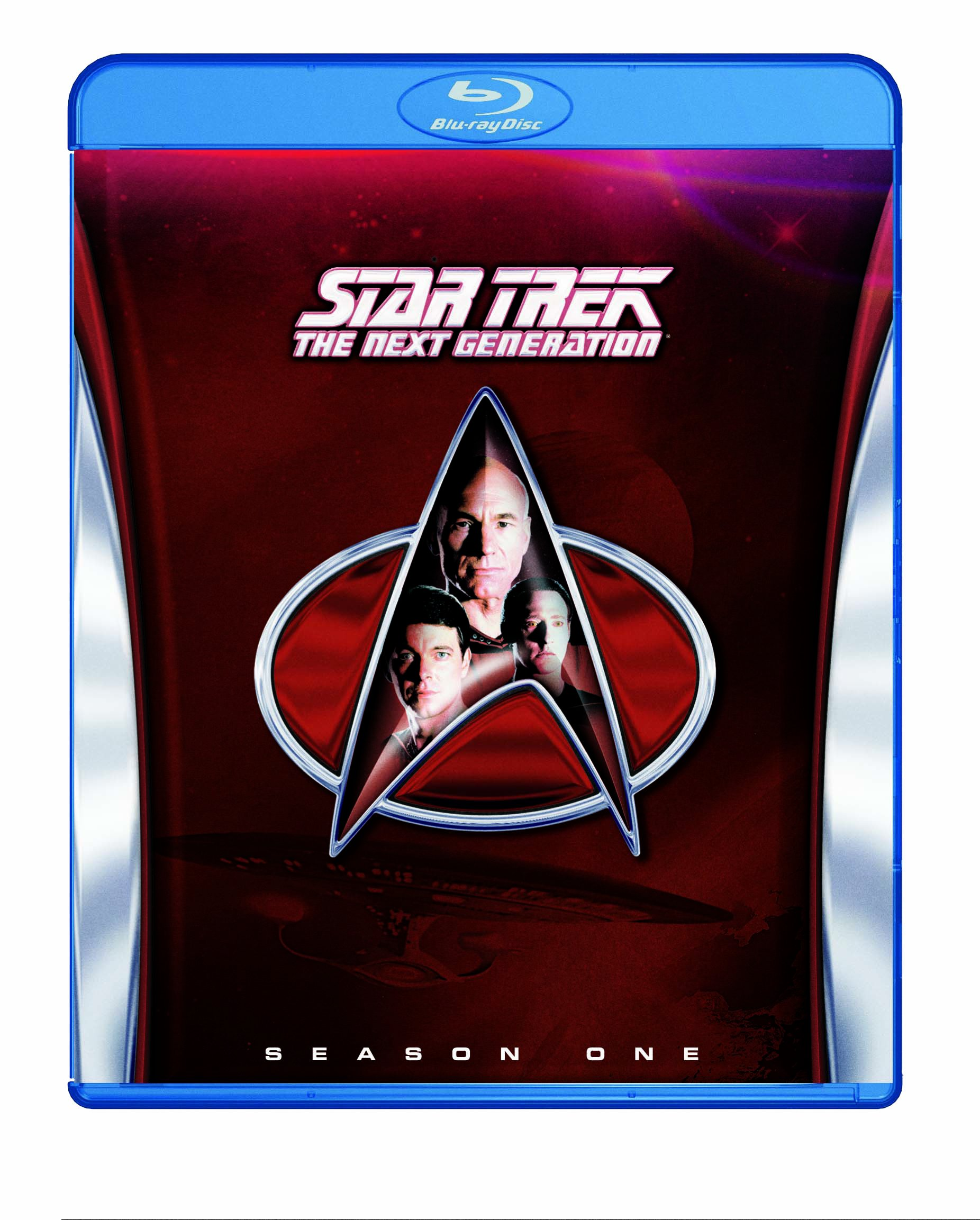 Blu-ray : Star Trek: Next Generation - Season 1 (Full Frame, Boxed Set, Amaray Case, 6 Disc)