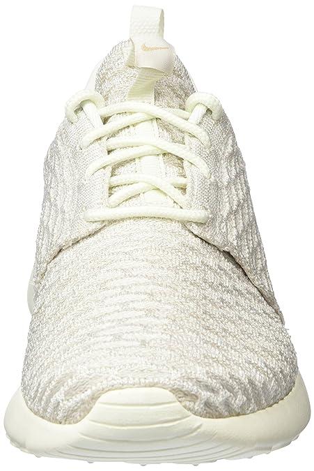 meet 60054 9eac1 Amazon.com   Nike Roshe One Flyknit, Women s Sneakers, Grey (Sail White- String), 7.5 UK (42 EU)   Road Running