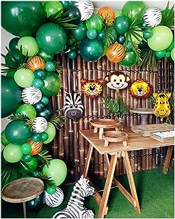 Amazon.com: 148 Pack Jungle Safari Theme Party Decorations ...