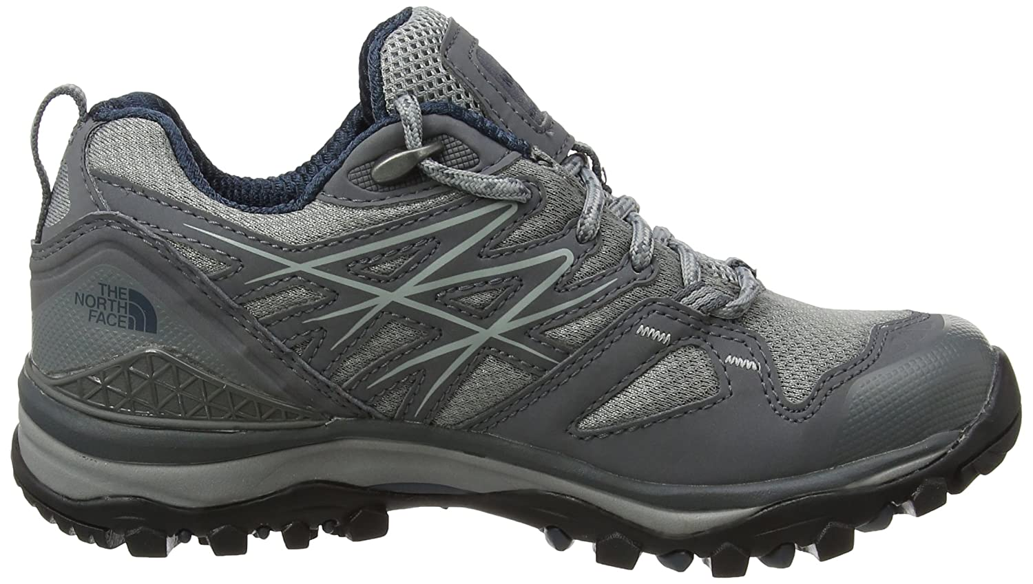 The North Face Damen Hedgehog Fastpack GTX (Eu) Trekking-& Wanderhalbschuhe, Mehrfarbig (Griffin Grey/Ink Blue), 41.5 EU