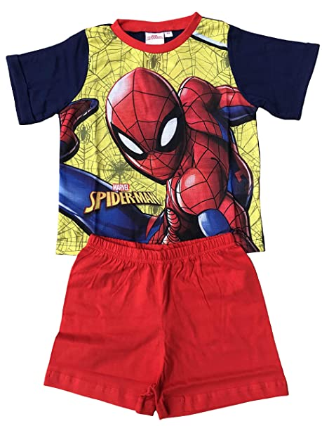 SpiderMan T-Shirt Pyjama Shorty