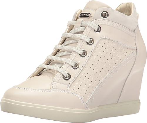 Geox Damen D Eleni C Hohe Sneaker