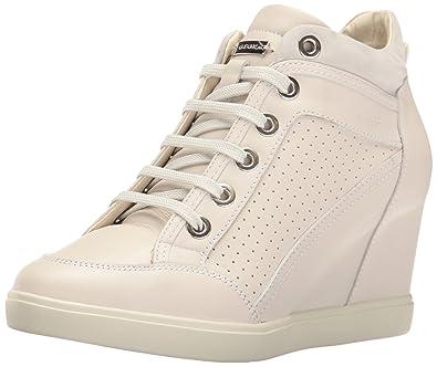 c88dfeee3b Geox Women's Eleni 31 Sneaker, Off Off White, 36 M EU (6 US