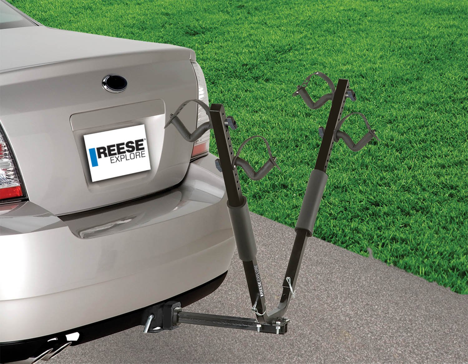 Reese Explore 1390000 Hitch Mount SportWing 2-Bike Carrier