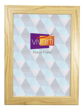 Vivarti Eiche Finish Light Holz Bilderrahmen A4 Zertifikat Größe