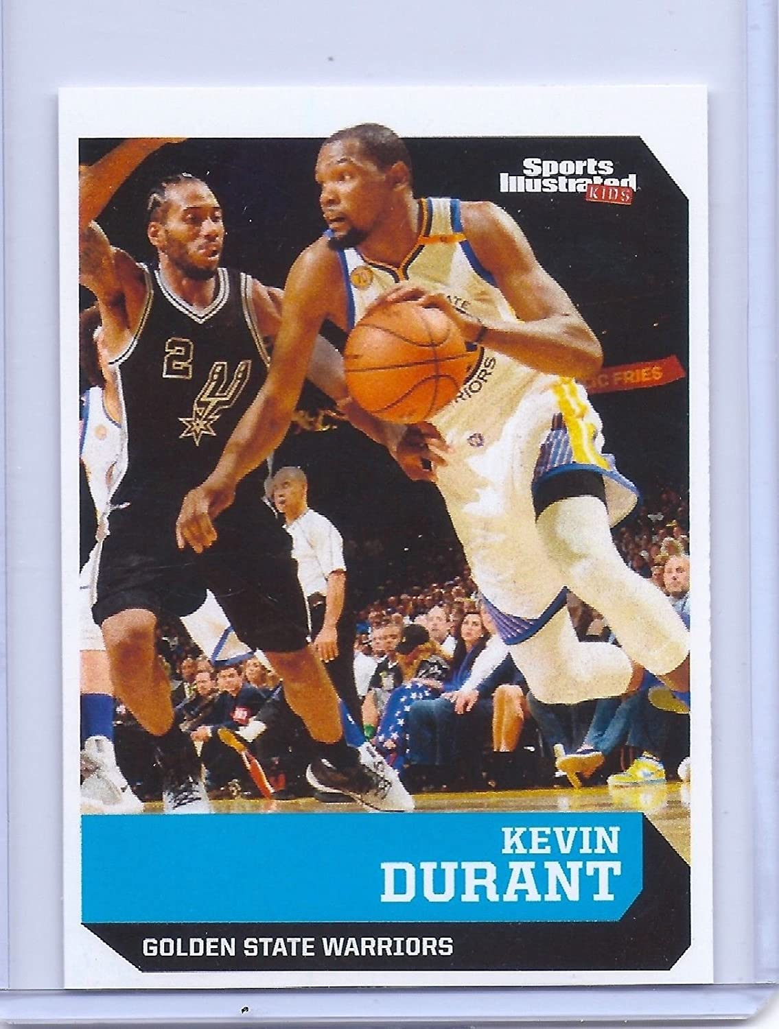 KEVIN DURANT 2006//2017 1ST EVER PRINTED ROOKIE CARD LOT! Sports Illustrated 2