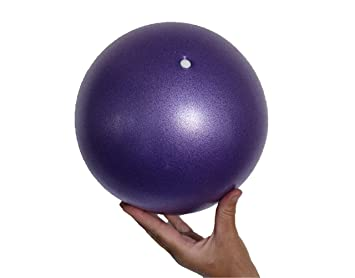 OdeZone Mini Yoga Ball - Mini Exercise Ball - Flexible, Soft Ball - Thighs and Core Training, Pilates, Barre - Bender, Stability and Balance Exercise ...