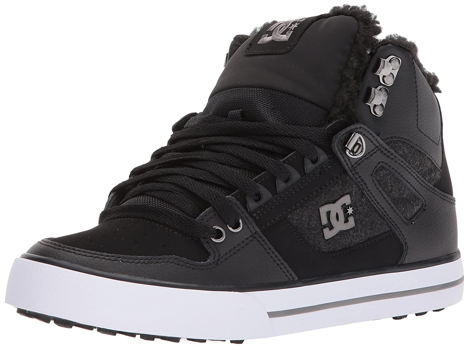 DC Women's Spartan High WC Wnt Skate Shoe B06Y5R7JDK 12.5D D US|Black/Armor