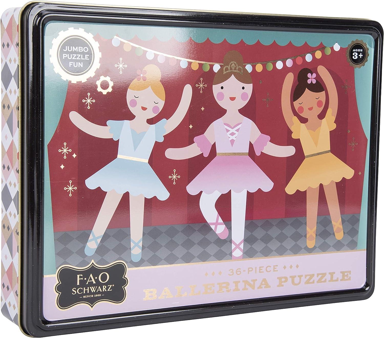 FAO Schwarz Ballerina Puzzle