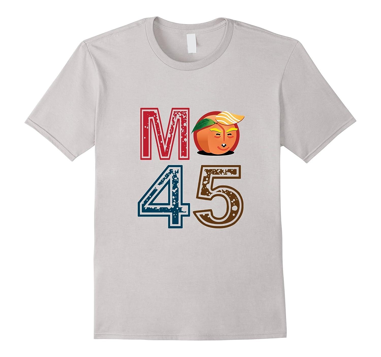 Funny Tee Impeach Trump M Peach 45 Anti Trump Tshirt-ln