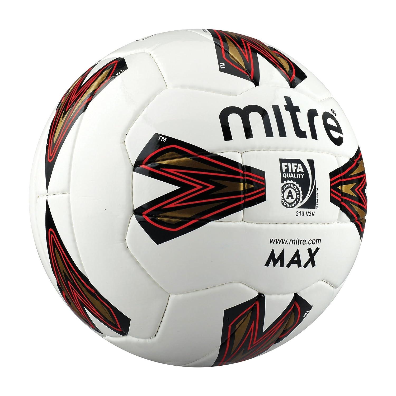 Mitre MAX 32p - Balón de fútbol, Talla 5 de la FIFA: Amazon.es ...