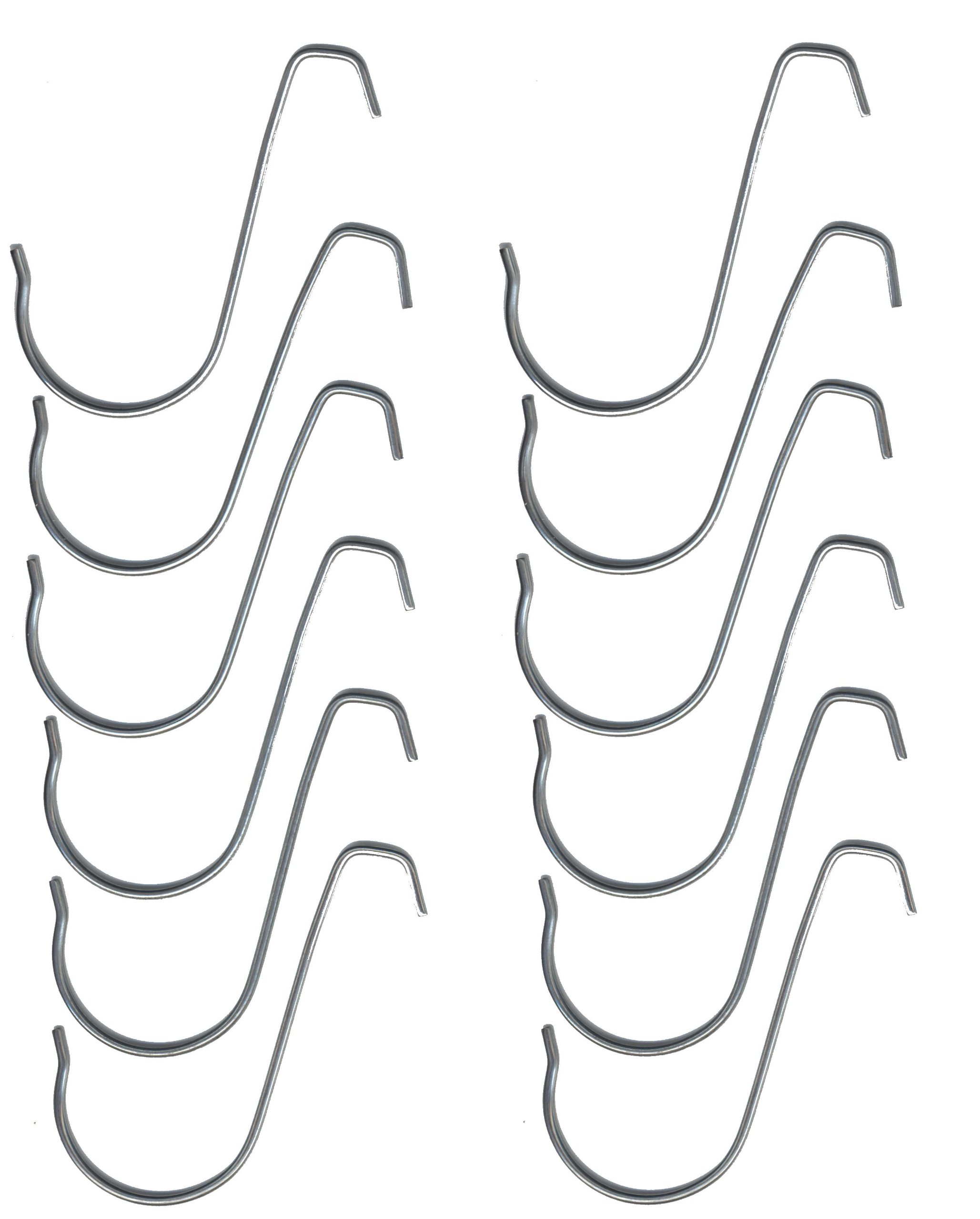 3 inch Exhibit / Conference Hook (Pack of 12 S-hooks)