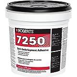Roberts 7250-1 Pro Grade Cork Underlayment Adhesive, 1 gallon, White