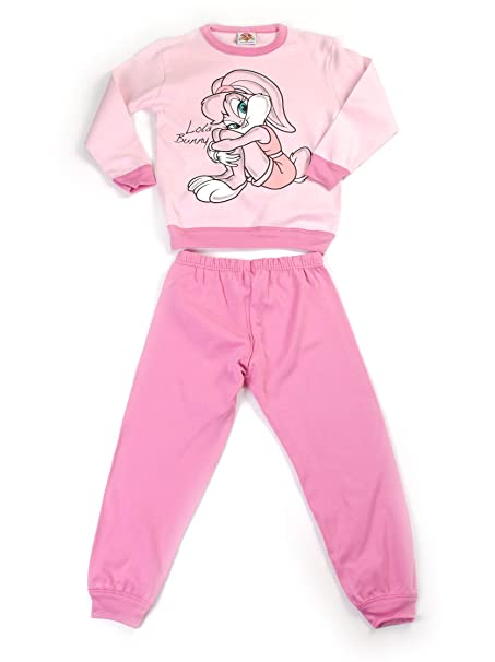 Fantasia Pijama Looney Tunes Rosa 4 años (104 cm)