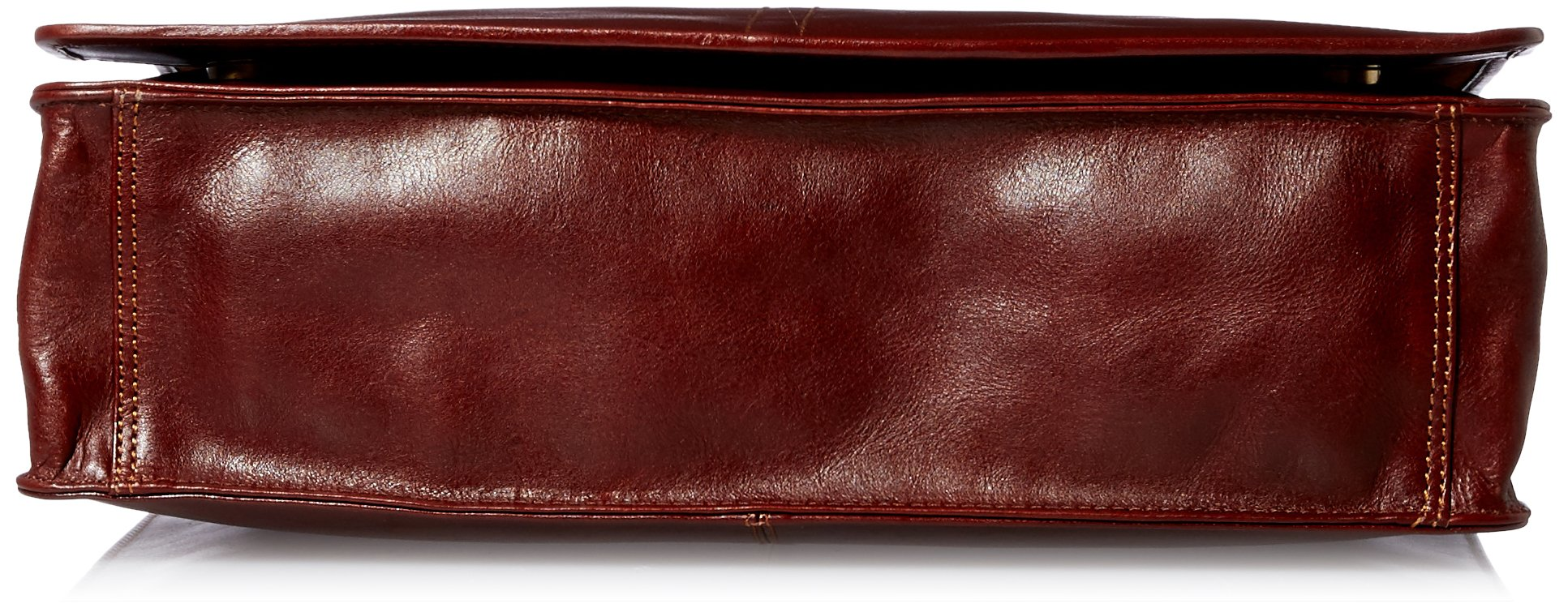 Visconti Vintage-7 Veg Tan Brown Soft Leather Messenger Bag Case, Brown, One Size by Visconti (Image #4)