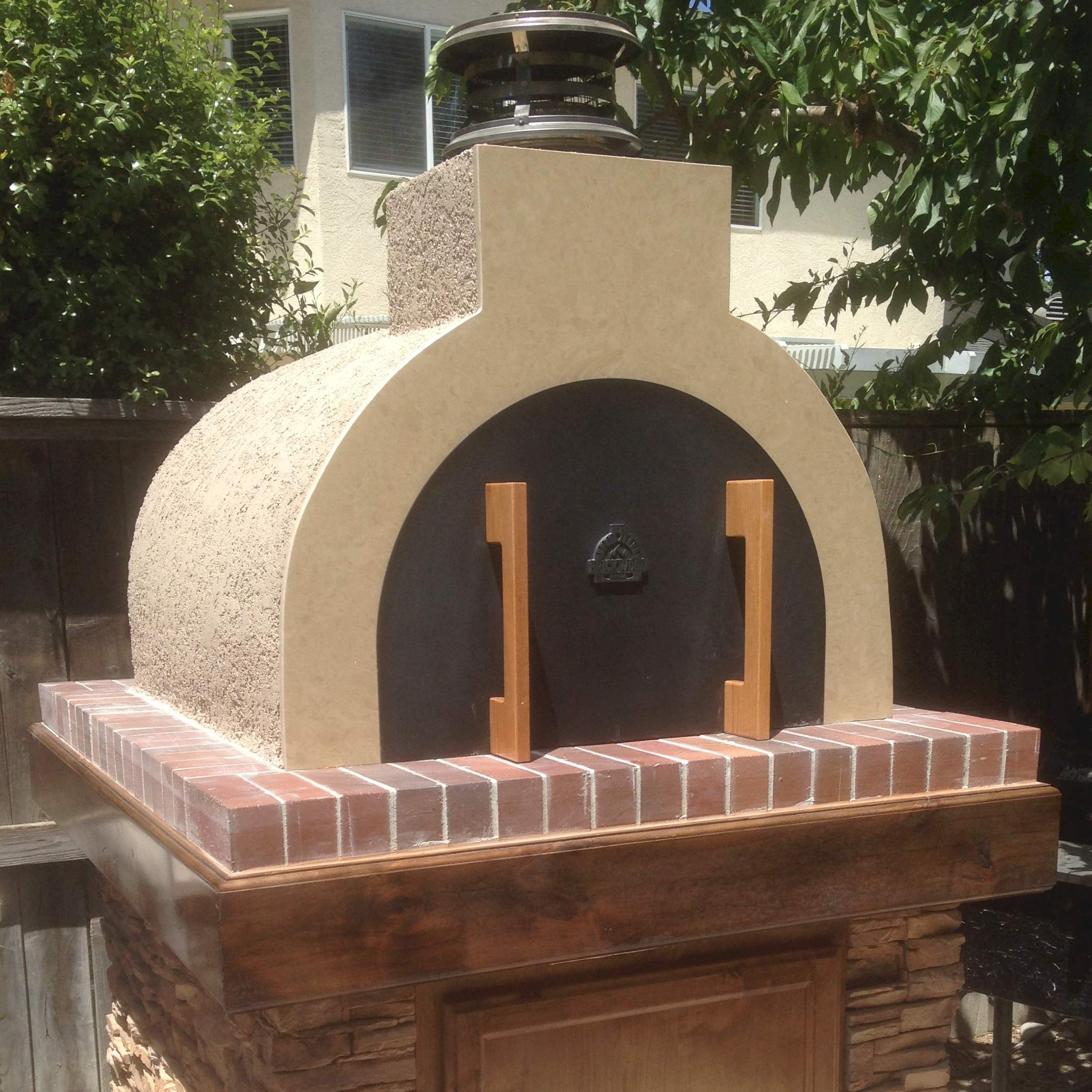 Outdoor Pizza Oven Kit • DIY Pizza Oven - The Mattone Barile Foam Form (Medium Size) provides the PERFECT shape / size for building a money-saving homemade Pizza Oven with locally sourced Firebrick. by BrickWood Ovens