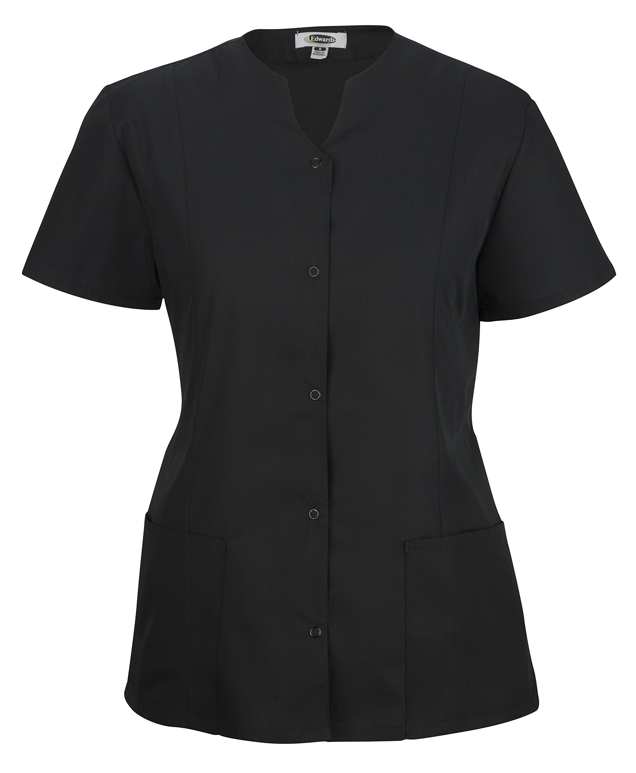 Averill's Sharper Uniforms Women's Ladies Extreme Housekeeping Snap Front Tunic with Two Pockets