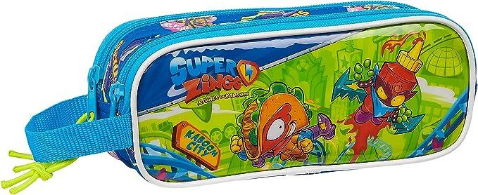 Safta- Superzings Portatodo, Color Azul, 210x60x80 mm (M513): Amazon.es: Ropa y accesorios