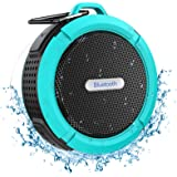 Bluetooth Shower Speaker, Crionac Waterproof Bluetooth Speaker with 6H Playtime, Loud HD Sound, Portable Outdoor Speaker with