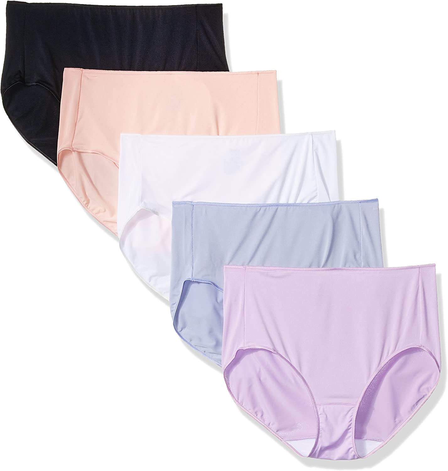 Hanes Women's Microfiber Brief Multipack