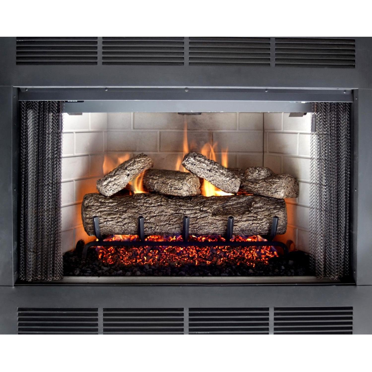amazon com peterson real fyre 24 inch live oak log set with