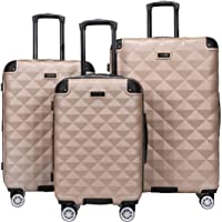 Kenneth Cole Reaction Diamond Tower Luggage Collection Lightweight Hardside Expandable 8-Wheel Spinner Travel Suitcase…