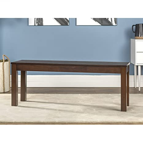 Fabulous We Furniture 48 Homestead Wood Dining Bench Walnut Ibusinesslaw Wood Chair Design Ideas Ibusinesslaworg