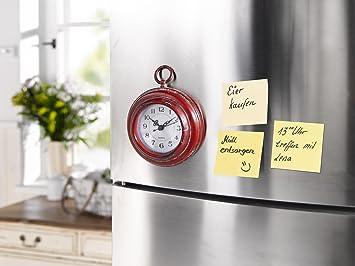 Kühlschrank Uhr Magnetisch : Zekrby persönlichkeit minimalistisch magnetisch paste wanduhr