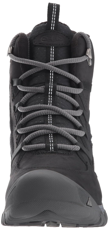 KEEN Women's Hoodoo III Lace up-w Snow Boot B01MRLUAWW 7.5 B(M) US|Black/Magnet