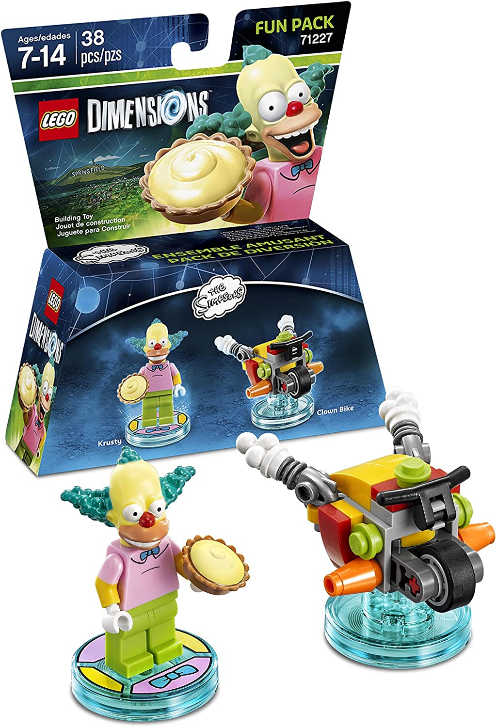 LEGO Dimensions, Simpsons Krusty Fun Pack by Warner Home Video - Games: Amazon.es: Juguetes y juegos