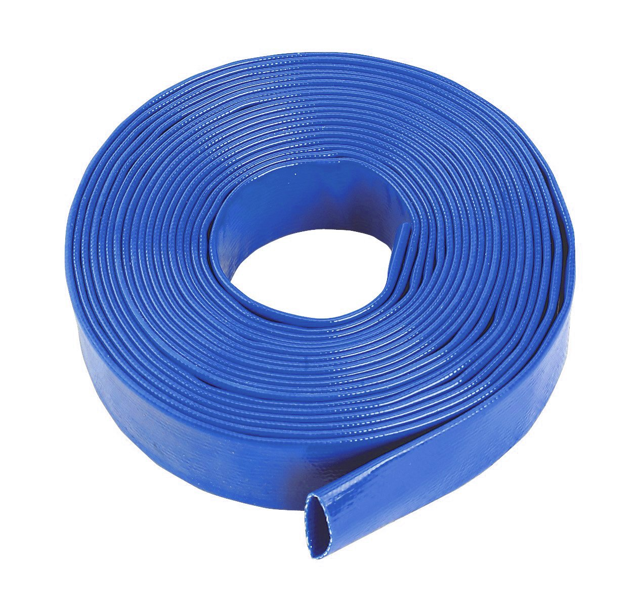 AutoSiliconeHoses.com 32mm ID Yellow 30 Metre Layflat Pipes PVC Water Hose Discharge Pump Lay Flat