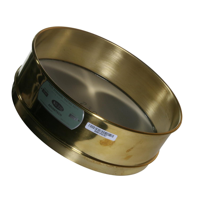 Advantech Brass Test Sieves 8 Diameter #230 Mesh Full Height