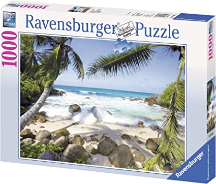 Ravensburger Seaside Beauty 1000 Piece Jigsaw Puzzle for Adults - Every Piece is Unique, Softclick Technology Means Pieces Fit Together Perfectly