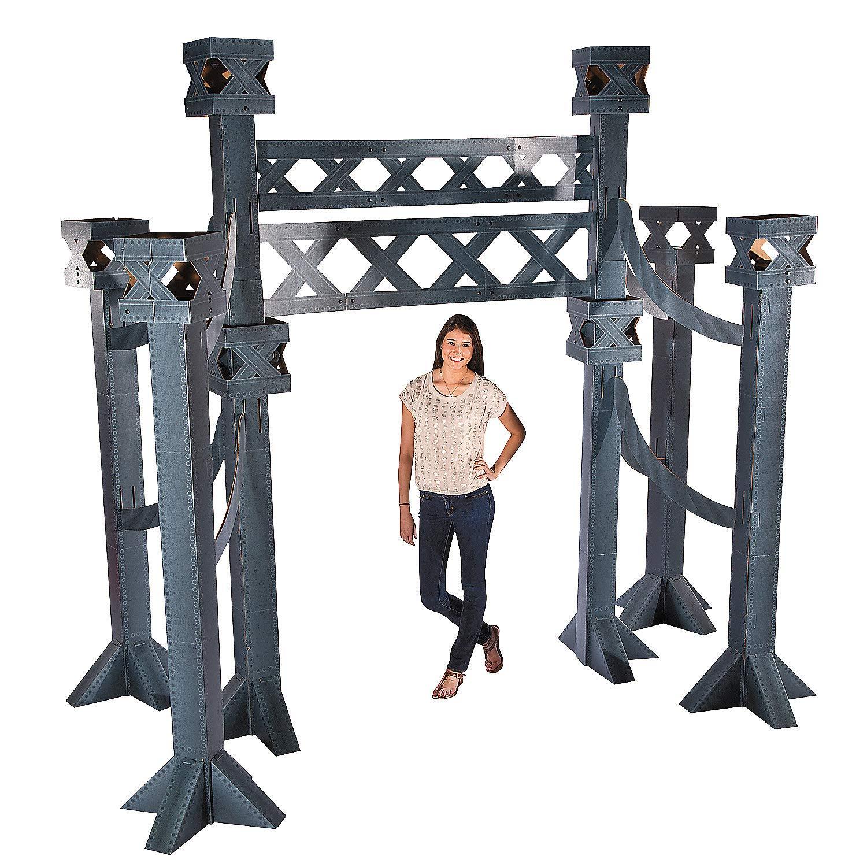 Fun Express - City Bridge Arch - Party Decor - Large Decor - Archways - 1 Piece