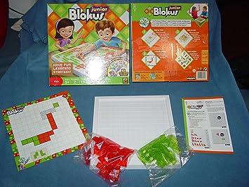 Mattel Blokus Junior Estrategia - Juego de Tablero (Estrategia, Niño ...