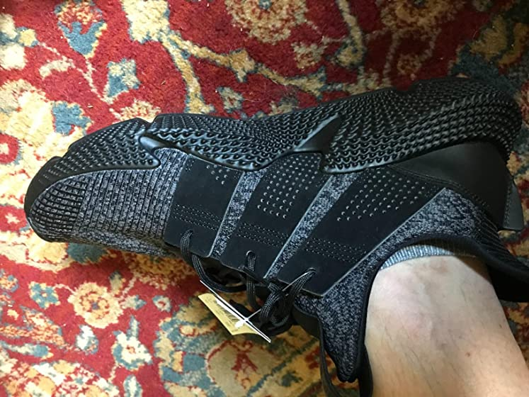 adidas Originals Men's Prophere Running Shoe The shoe slips on easy. The mid soul could be a little trimmer