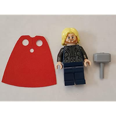 LEGO Super Heroes Age of Ultron Minifigure - Thor with Hammer (2015): Toys & Games