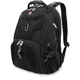 #10 SwissGear 1900 Scansmart TSA Laptop Backpack - Black